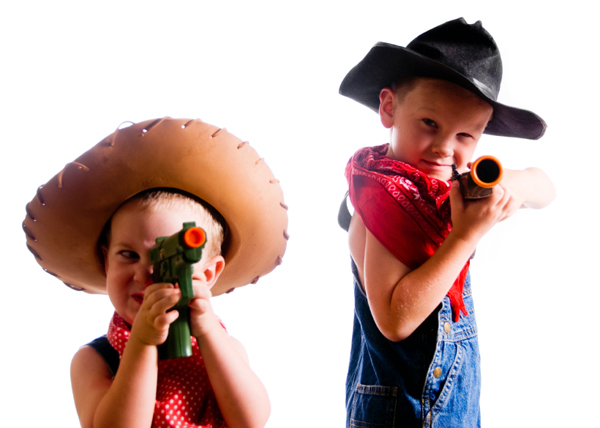 Toy guns may have negative effects on children