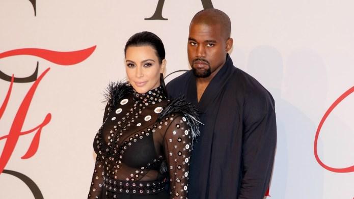 Kim and Kanye make a touching