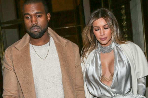 Kim Kardashian and the plunging neckline