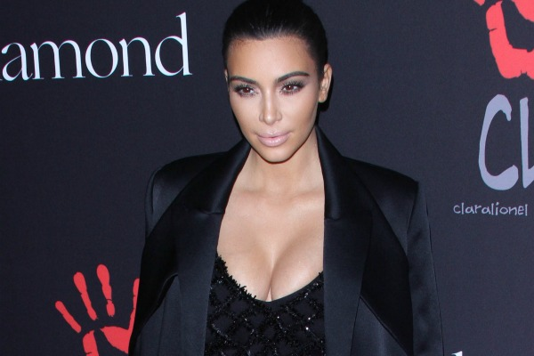 Kim Kardashian and celebrities flaunting their positive body image on the covers of magazines