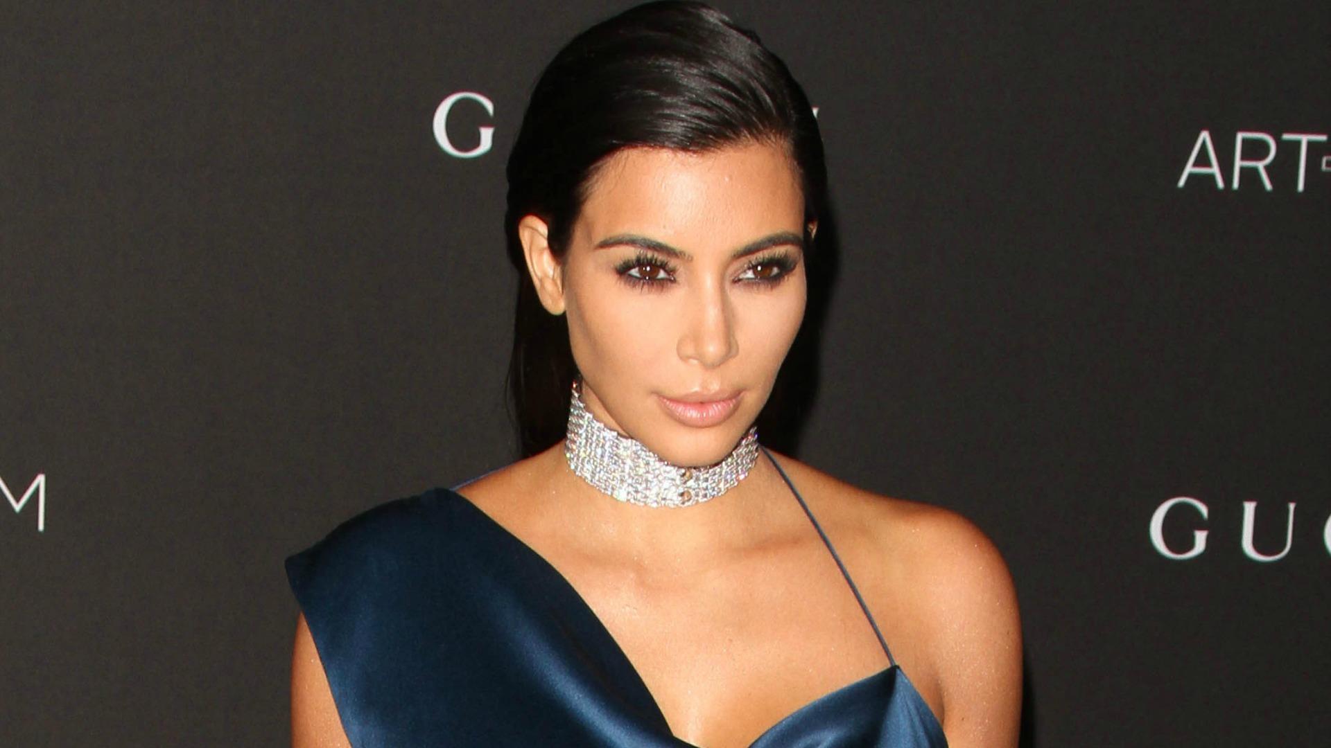 Kim Kardashian covers Paper Magazine