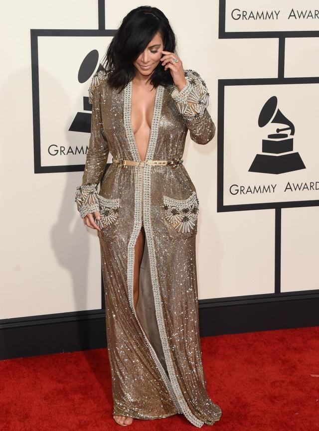 Kim Kardashian Grammys dress