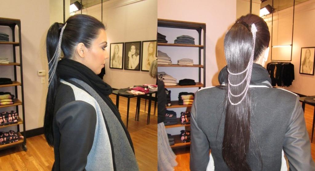 kim kardashian belle noel hair chain