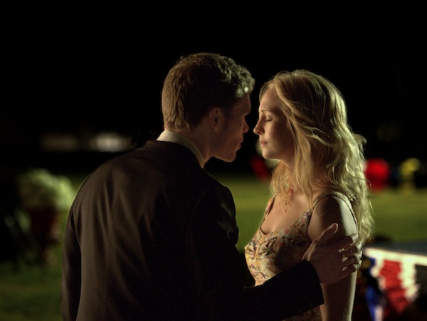 Klaus and Caroline may finally hook-up when The Vampire Diaries returns