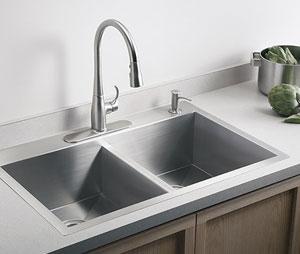 Kohler Vault Double-Equal Kitchen Sink
