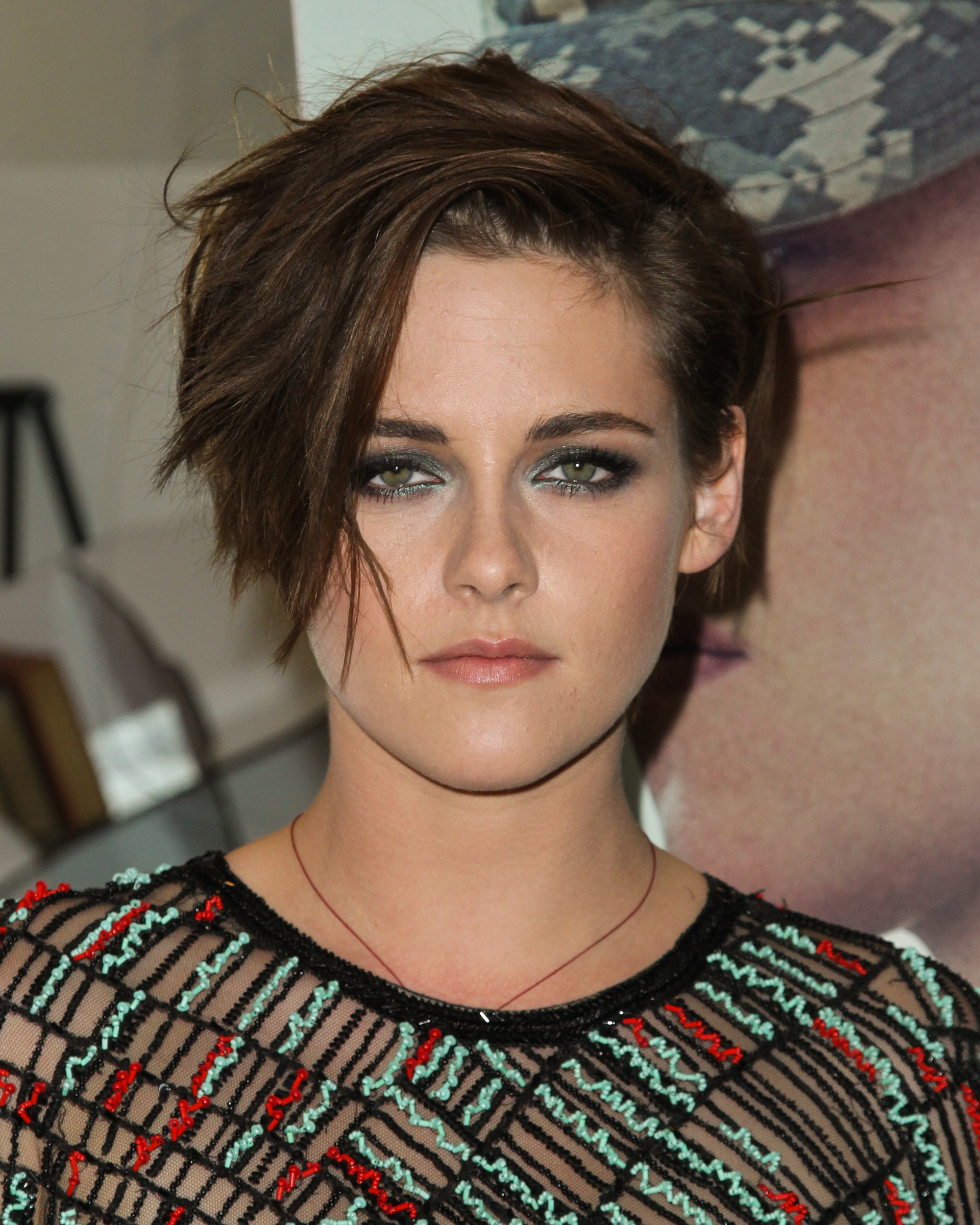 Best sexy beauty look: Kristen Stewart