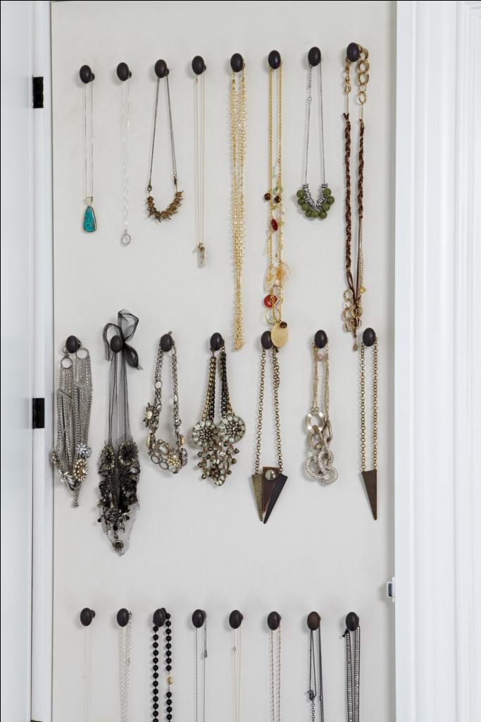 Giuliana Rancic's Closet: Necklace wall