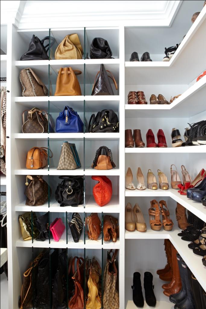 Giuliana Rancic's Closet: Organized purses