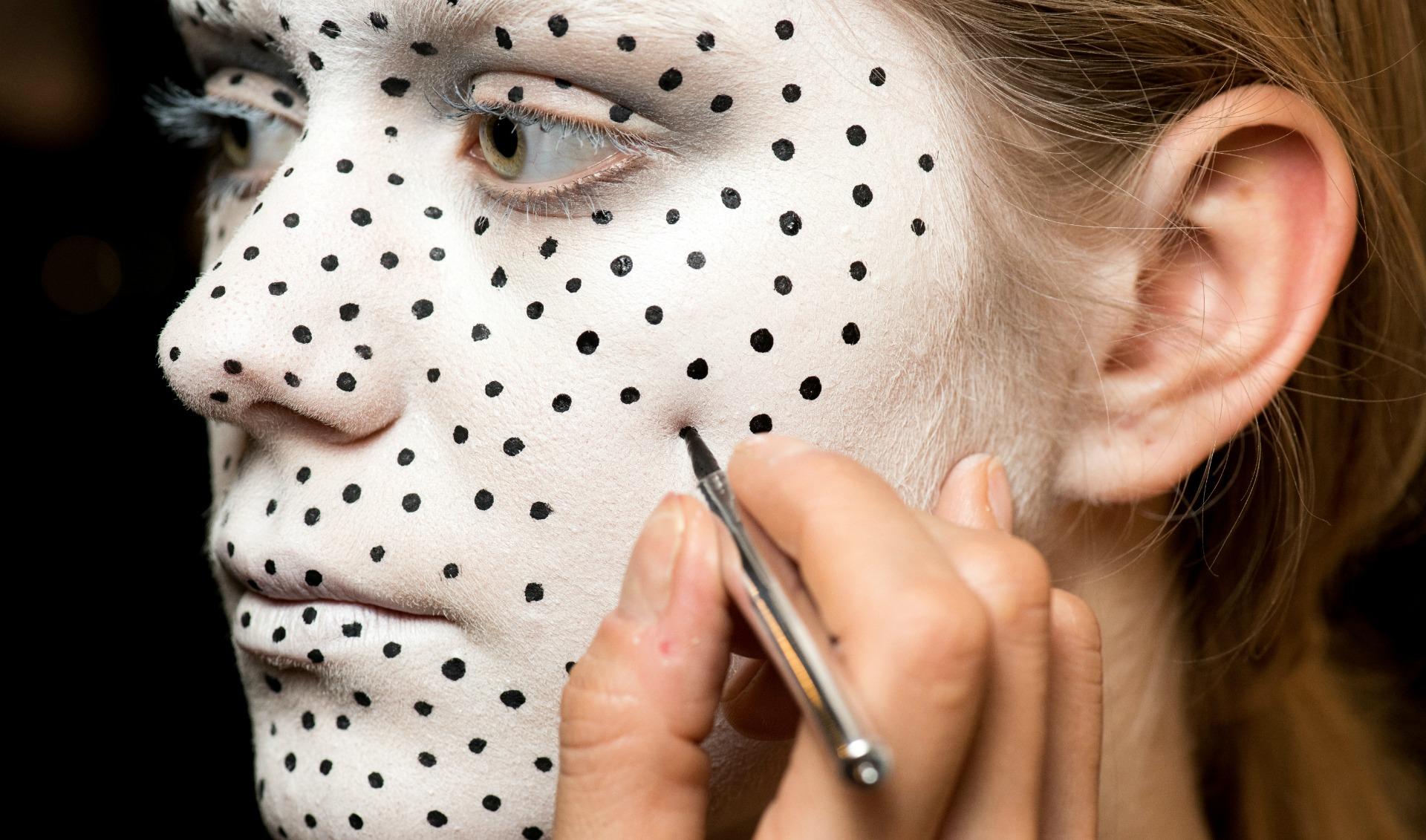 Makeup at London Fashion Week AW15
