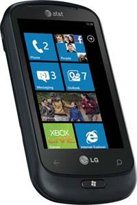 LG Quantum Windows 7 Phone