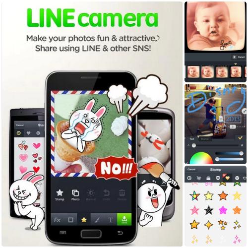 LINE Camera - Photo-editing app