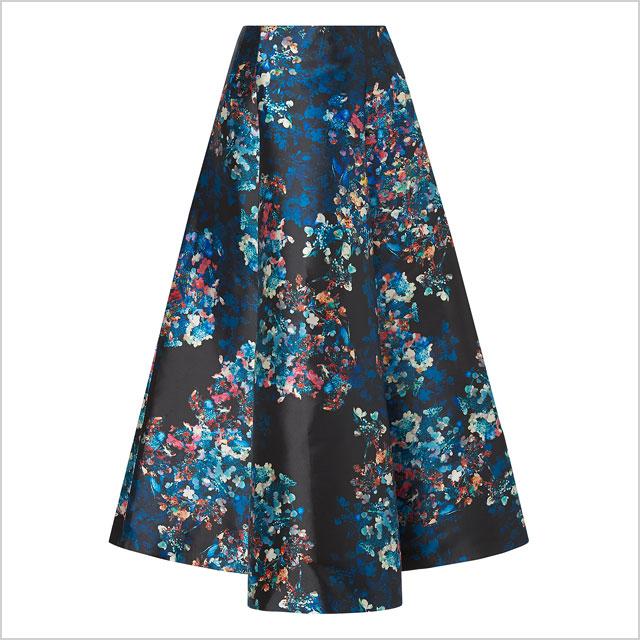 LK Bennett Kensal Floral Skirt