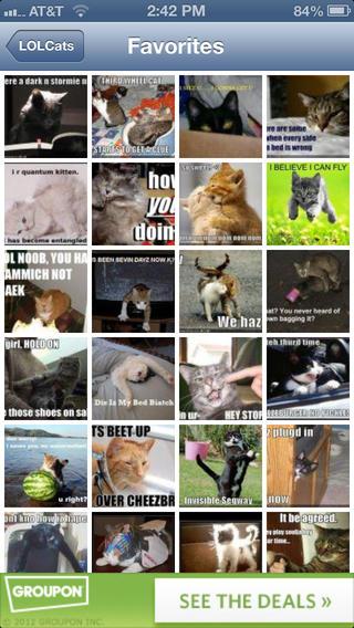 LOL Cat app