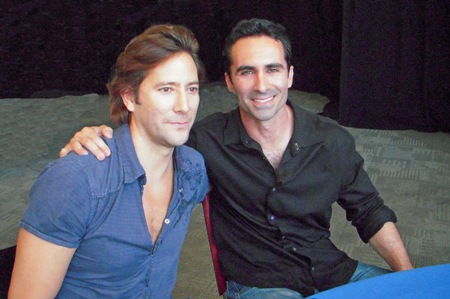 Lost stars Nestor Carbonell and Ian Cusick