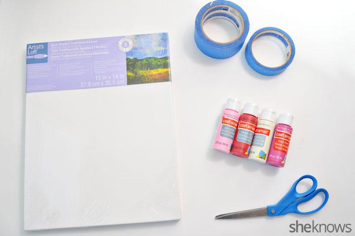 Valentine's Day love art supplies
