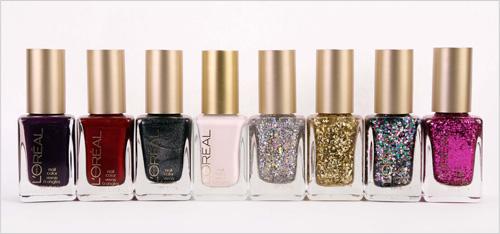L'Oréal Paris Sparkling Soirée Nail Collection