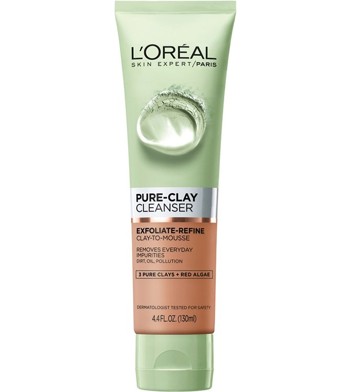 Insanely Cool Under $5 Beauty Products at Ulta: L'Oréal Pure Clay Cleanser | Summer Make up
