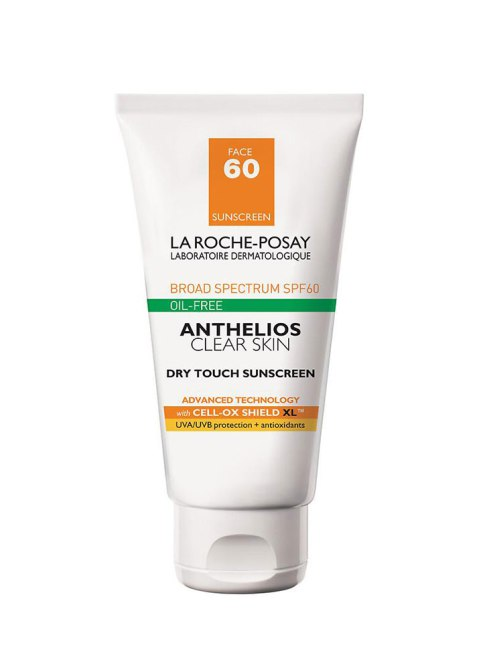skin care Ingredients That Work Together: La Roche-Posay Anthelios 60 Clear Skin Dry Touch Sunscreen SPF 60