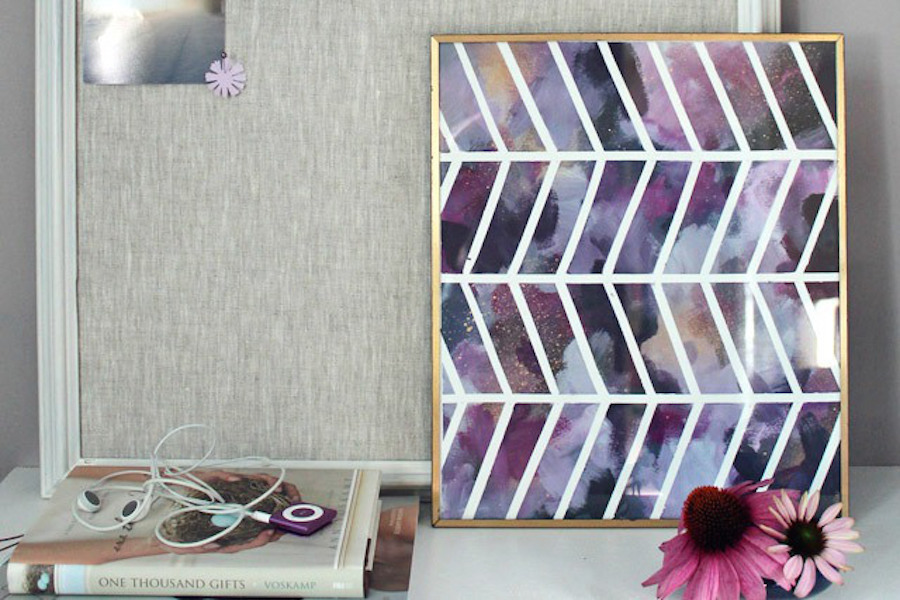 13 Lovely Pieces Of Wall Art You Can Easily Make Yourself Sheknows