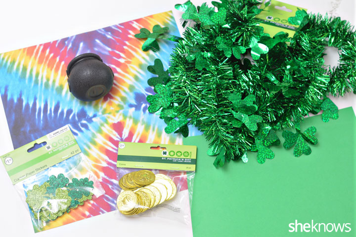 Leprechaun trap supplies