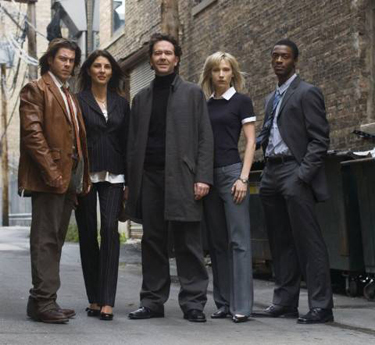 The Leverage cast from TNT's hit