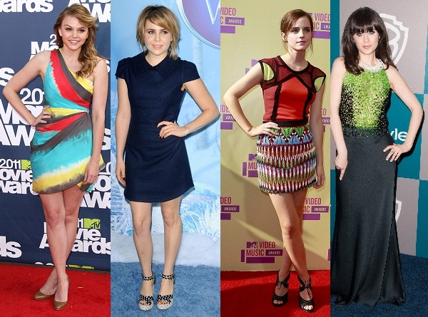 Lindsay's should-be inspirations: Aimee Teegarden, Mae Whitman, Emma Watson, Zooey Deschanel