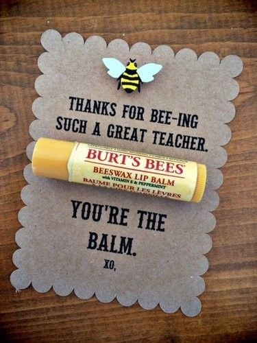 DIY Non- Heart Valentines Gifts For Teachers | DIY Cute Lip Balm Card