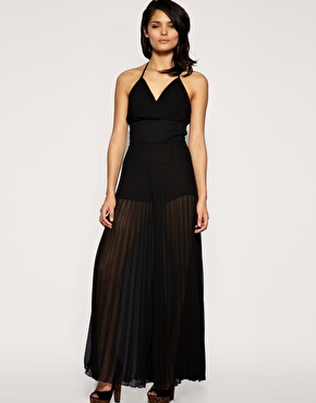 Black jumpsuit from Lipsy