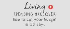 Spending makeover