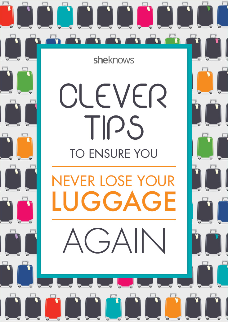 10 Clever ways to make your luggage stand out in a crowd