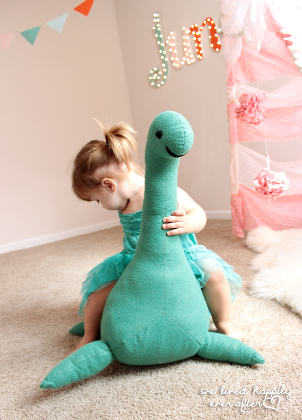 Loch Ness Monster stuffed animal