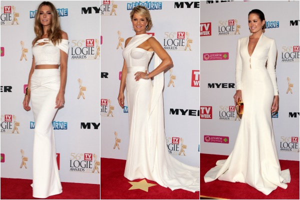 Fashion from the 56th Annual Logie Awards