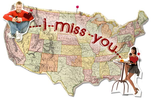 I miss you map