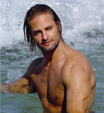 Frequently shirtless, Sawyer is the resident bad boy