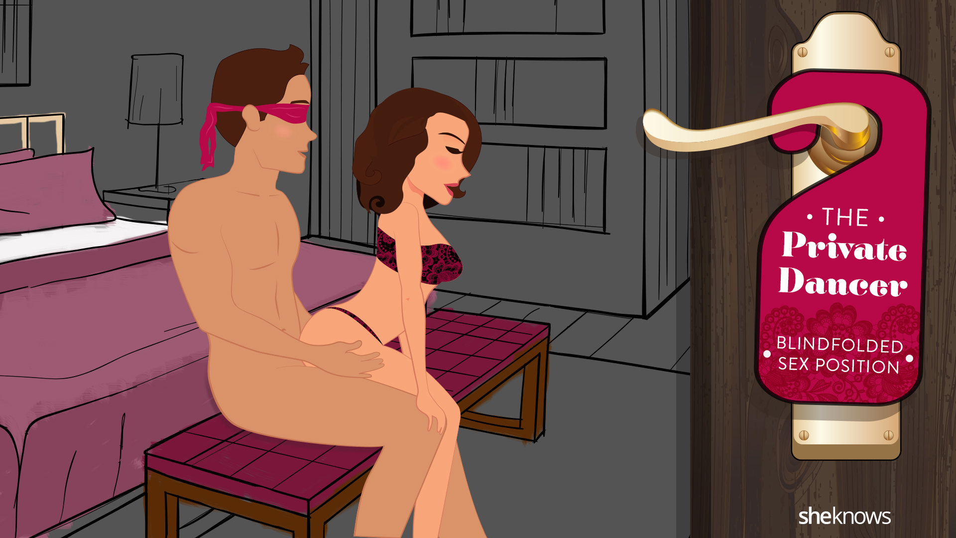 Sex while wearing blindfold increases intimacy