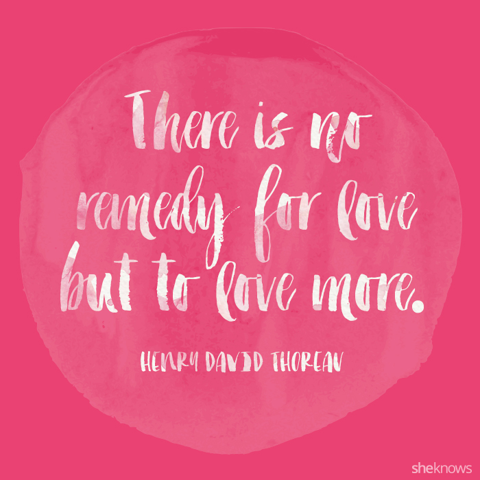 60 Love quotes for Valentine's Day SheKnows Enchanting Valentines Love Quotes