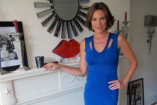Real Housewives of New York's LuAnn de Lesseps