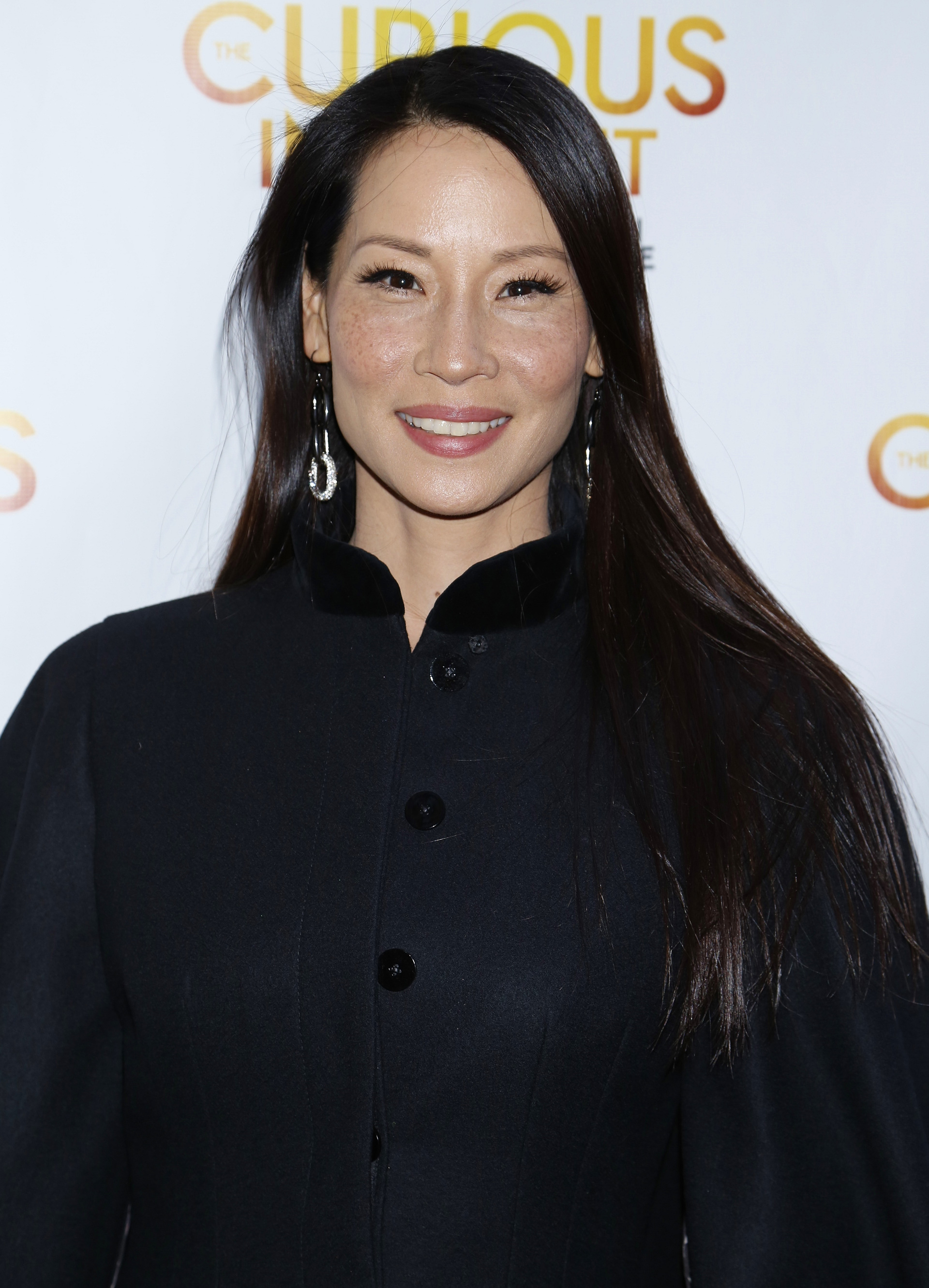 Best shiny hair: Lucy Liu