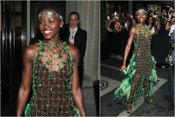 Lupita Nyong'o at The Met Ball 2014