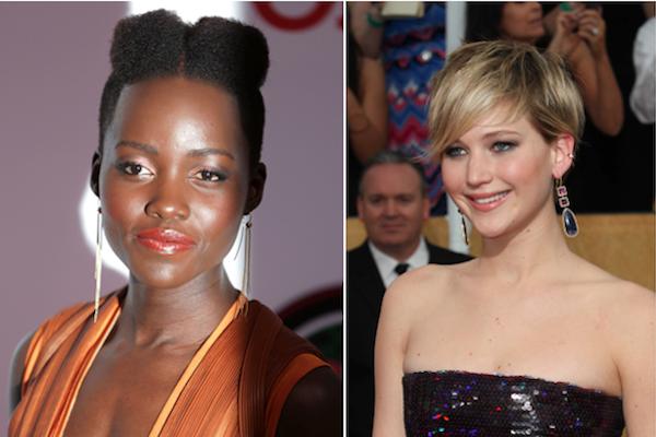 Lupita Nyong'o, Jennifer Lawrence