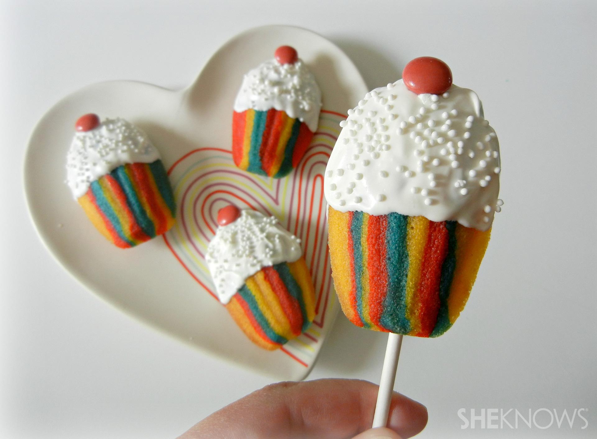 Madeleine Cupcake Pops