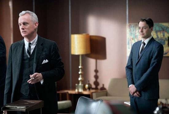 JohnSlattery (left) and Vincent Kartheiser plead their case