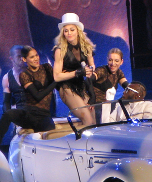 Madonna live in Boston October 15