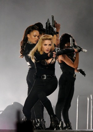 Madonna sued Paris swastika stunt