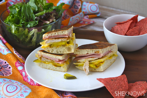 Hearty Cuban sandwiches