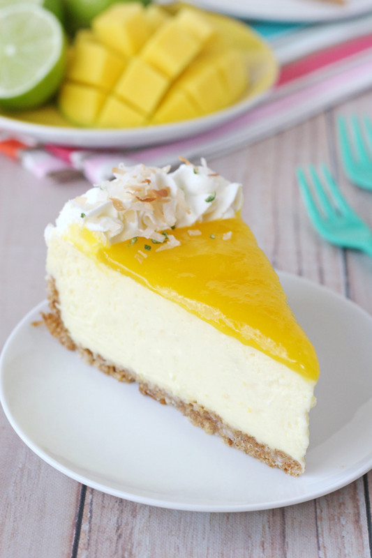 Exotic Fruit Desserts: Mango Lime Cheesecake | Summer Eats