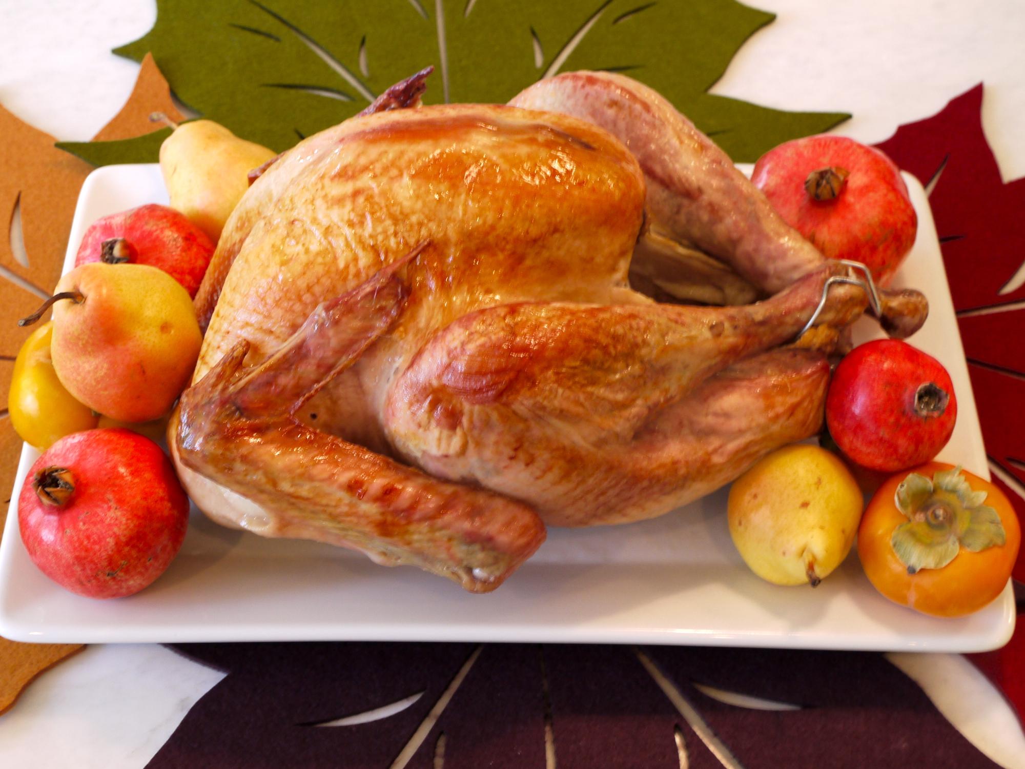 maple brined turkey