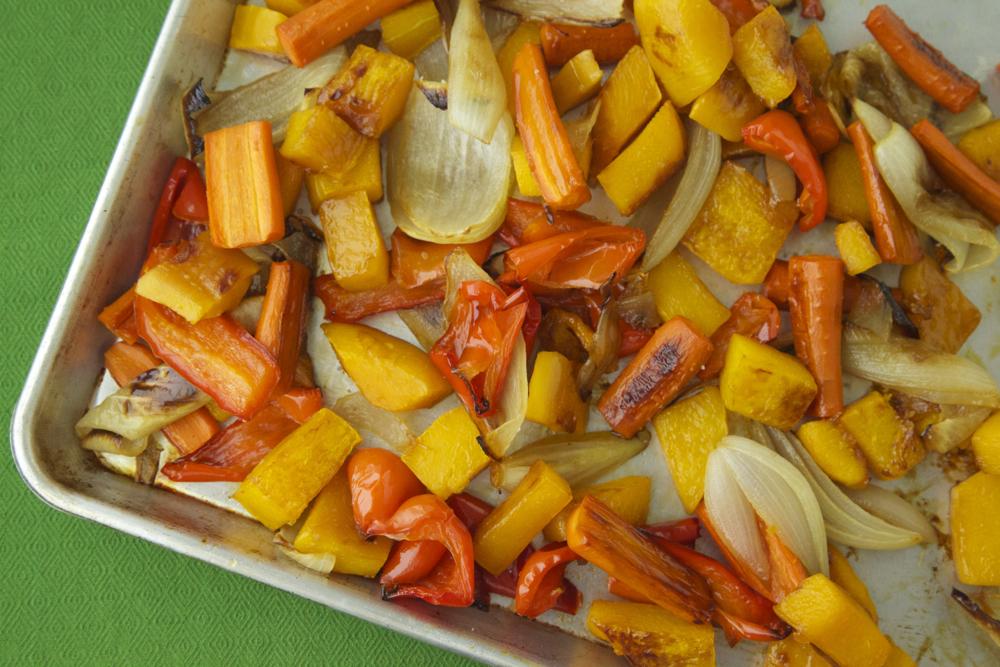 maple roast veggies