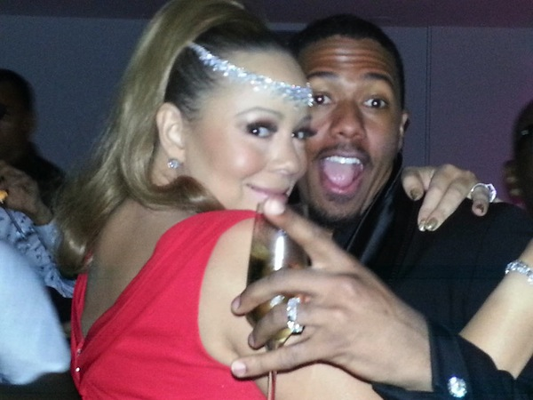 Mariah Carey and Nick Cannon - Twitter