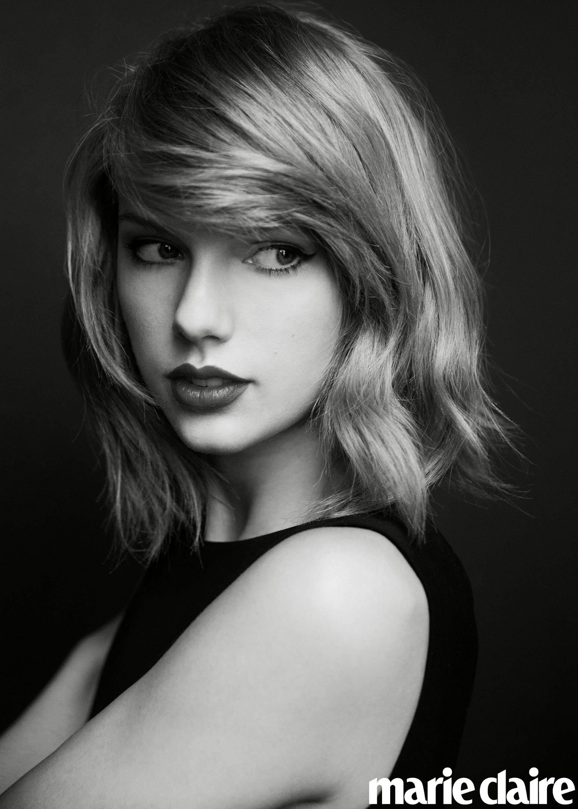 Taylor Swift featured in Marie Claire